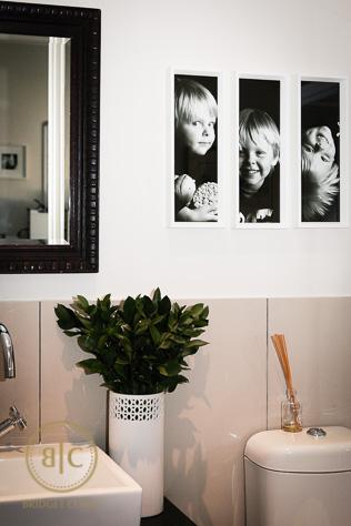 Family Gallery in Bridget Corke's Home